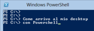 Path Desktop da Powershell