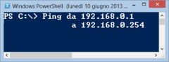 Ping da IP a IP