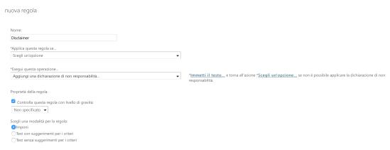 Office365-AddDisclaimerText