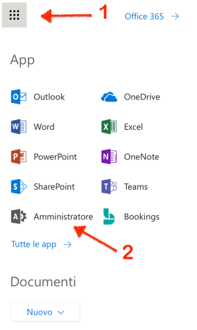Office365-admin-page